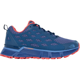 The North Face Endurus TR Trail Running Shoes Dam coastal fjord blue/cayenne red